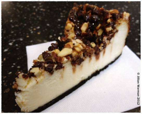 Just wait till you taste THIS cheesecake!